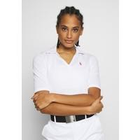 Polo Ralph Lauren Golf SHORT SLEEVE Koszulka polo pure white PO741D02I