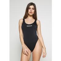 Calvin Klein Swimwear INTENSE POWER SCOOP ONE PIECE Kostium kąpielowy black C1781G00O