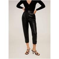 Mango WILLY Spodnie materiałowe schwarz M9121A1WO