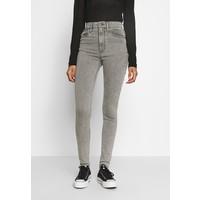 Levi's® MILE HIGH SUPER SKINNY Jeansy Skinny Fit grey denim LE221N060
