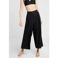 Seafolly INKAGYPSY BLEND SPLIT PANT Spodnie materiałowe black S1981H021