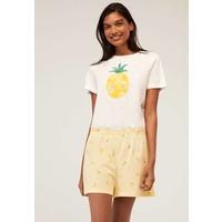 OYSHO Spodnie od piżamy yellow OY121S00U