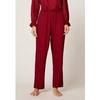 OYSHO MIT PUNKTEN Spodnie od piżamy red OY181O0KS