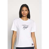 Tommy Hilfiger TOMMY LOGO Koszulka do spania classic white TO181Q01E