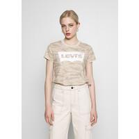 Levi's® THE PERFECT TEE T-shirt z nadrukiem beige LE221D08X