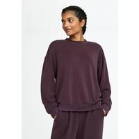 OYSHO_SPORT Bluza dark purple OY121J00I