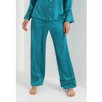 ASCENO BOTTOM Spodnie od piżamy emerald/black A0781O006