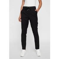 Vero Moda Spodnie materiałowe black VE121A0TO
