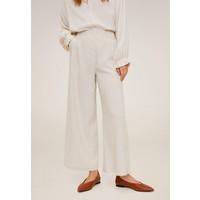 Mango SOPHIE Spodnie materiałowe beige M9121A1WF