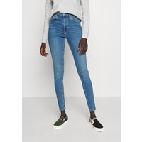 Topshop Tall JAMIE CLEAN Jeansy Skinny Fit blue denim TOA21N023