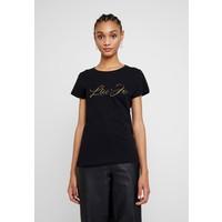 Liu Jo Jeans MODA T-shirt z nadrukiem nero/gold L2521D01I