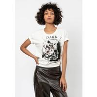 Religion EAST TIE T-shirt z nadrukiem white R1921D041