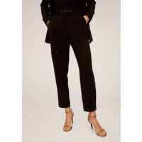Mango RARITY Spodnie materiałowe schwarz M9121A1WB
