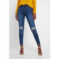 Vero Moda VMSOPHIA DEST Jeansy Skinny Fit medium blue denim VE121N0HL