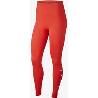 Nike Performance RUN Legginsy team orange/white N1241E0T8