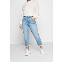 Esprit Petite MR GIRLFRIEND Jeansy Relaxed Fit blue light wash ESI21N002