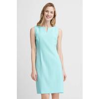 Quiosque Prosta miętowa gładka sukienka 4HE008901