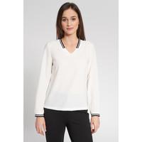 Quiosque Biała bluzka z czarnym wykończeniem 2JB004100