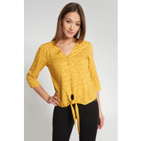 Quiosque Żółta bluzka z wiązaniem u dołu 2JN002320