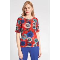 Quiosque Czerwona bluzka z wzorem 1JH008611