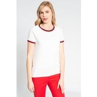 Quiosque Biała bluzka z czerwoną lamówką 1JH004100