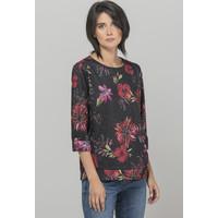 Monnari Połyskująca bluza z kwiatowym wzorem 19Z-JUM7000-KM20