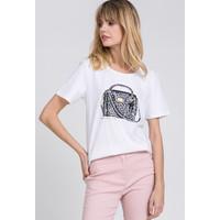 Monnari T-shirt z printem torebki 20L-TSH0545-K000