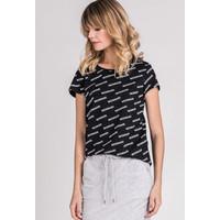 T-shirt z logo marki Monnari 20W-TSH0191-K020