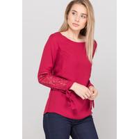 Monnari Elegancka bluzka z koronkowym rękawem 19Z-BLU6770-K005
