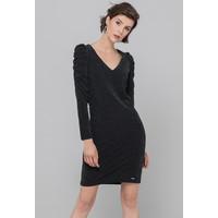 Monnari Sukienka wieczorowa z połyskującymi drobinami 19Z-DRE3800-K020