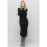 Monnari Dłuższa połyskująca sukienka sweterkowa 19Z-DRE4440-KM20