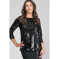 Monnari Wieczorowa bluzka z cekinami 19Z-BLU7480-K020