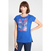 Quiosque Niebieska bluzka z różowym wzorem 1IB008821