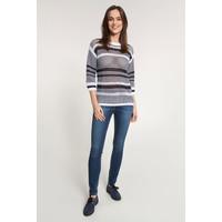 Quiosque Sweter z białymi paskami 6JH003802