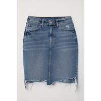 H&M Spódnica dżinsowa 0554640001 Niebieski denim