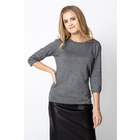 Quiosque Szary sweter z błyskiem 6GD002202