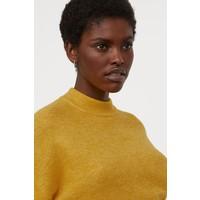 H&M Cienki sweter 0826492004 Żółty