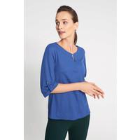 Quiosque Niebieska bluzka z podpinanym rękawem 1IB017802