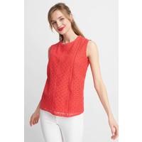 Quiosque Czerwona koronkowa bluzka bez rękawów 2HN001600