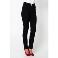 Quiosque Dopasowane czarne spodnie z wysokim stanem 3HJ001299