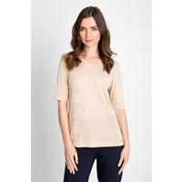 Quiosque Gładka bluzka z dekoltem V 1FE001303