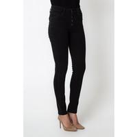 Quiosque Czarne spodnie z wyższym stanem 5HD602299