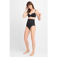 Quiosque Czarny strój kąpielowy z wysokimi figami 5HD709299