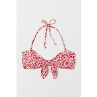 H&M Góra od kostiumu 0698255003 Czerwony/Kwiaty