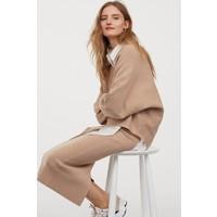 H&M Sweter z kimonowym rękawem 0794538001 Beżowy