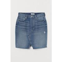 H&M Spódnica dżinsowa 0751342005 Niebieski denim
