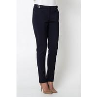 Quiosque Granatowe spodnie z ozdobnymi sprzączkami 3HR001802
