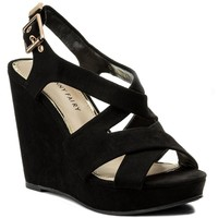 Sandały Jenny Fairy W16SS106-1 Czarny