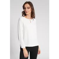 Quiosque Biała gładka bluzka z długim rękawem 2IM004100