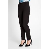 Quiosque Czarne eleganckie spodnie w kant 3FG002299